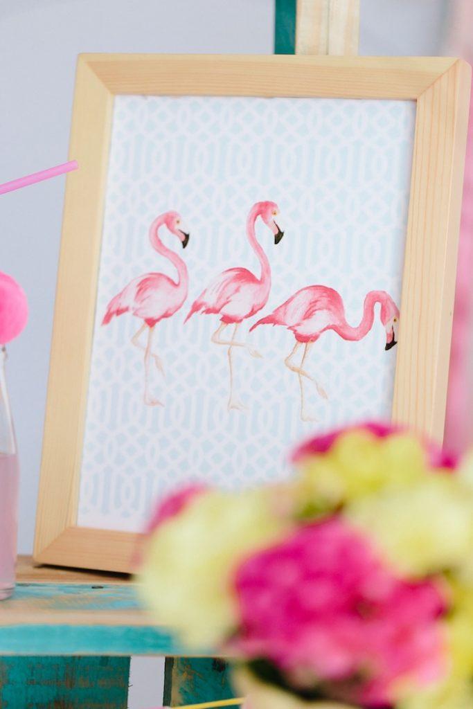 festa tema flamingo 14