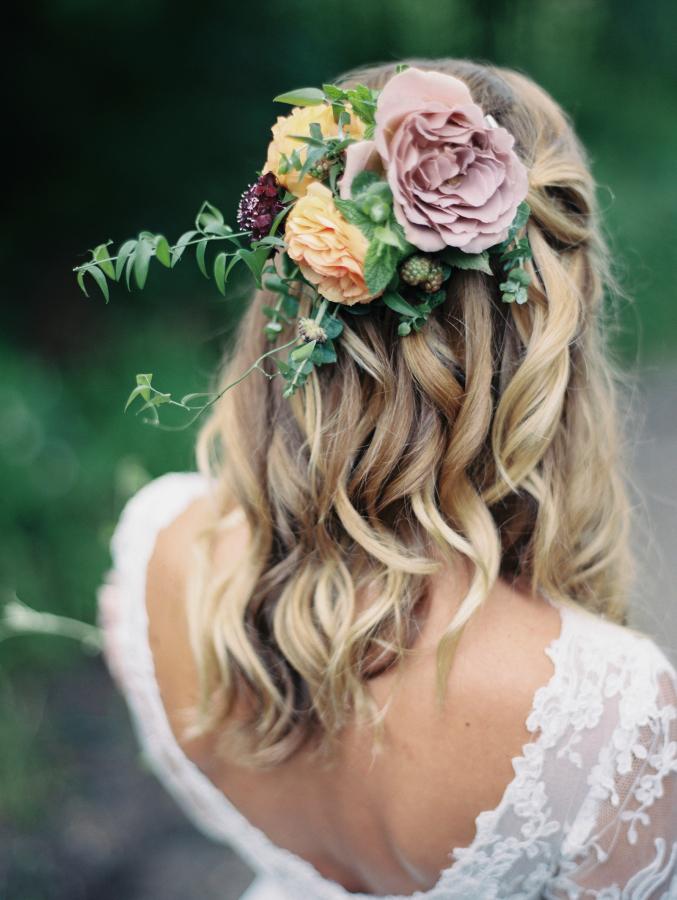 penteados para casar na praia ou no campo 3