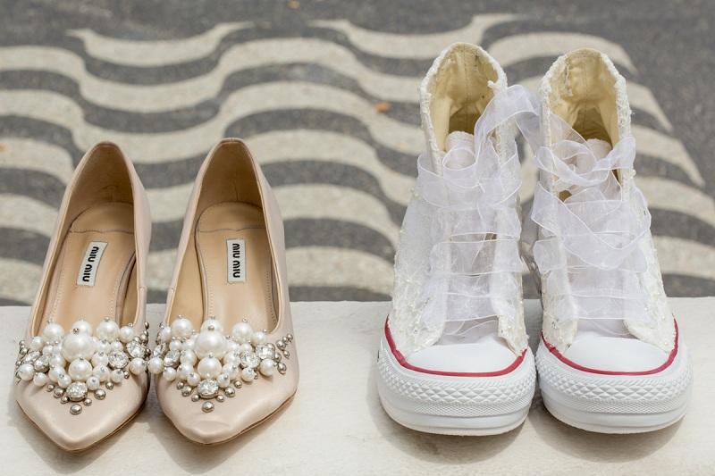 Noiva de tênis | Inspirações para adotar o tênis no casamento