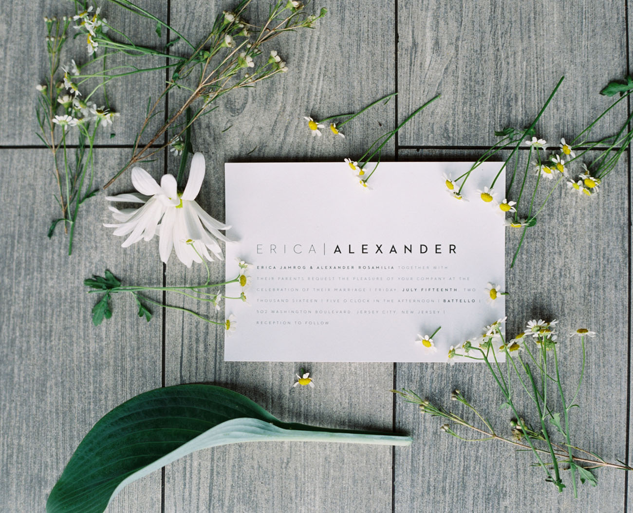 Convite de Casamento Minimalista | Blog Noiva Ansiosa