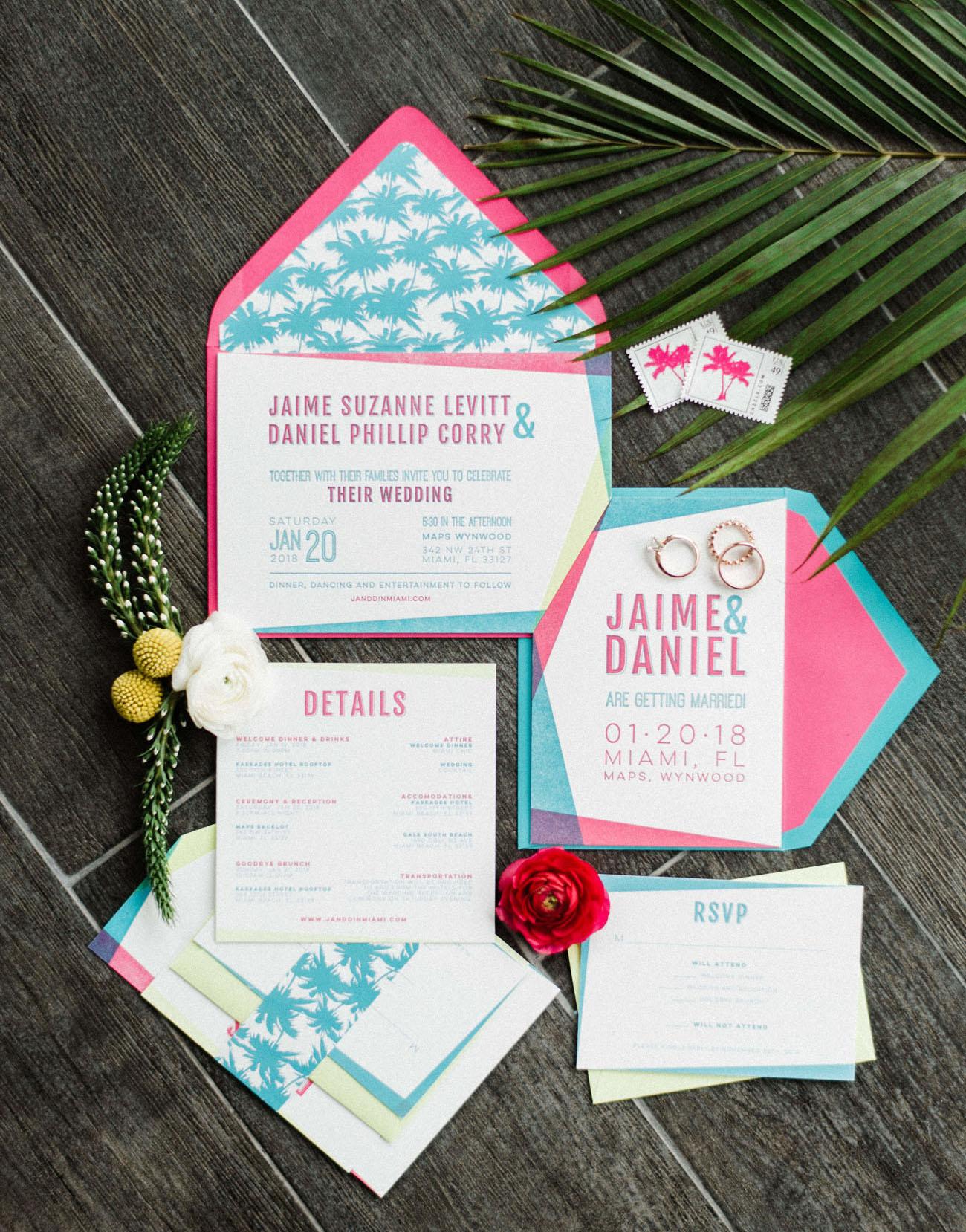Convite de Casamento Moderno | Blog Noiva Ansiosa