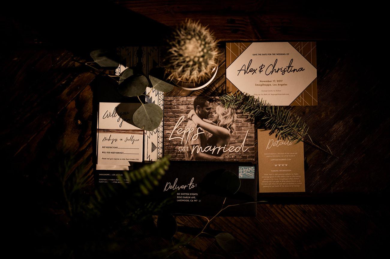 Convites de Casamento Rústico | Noiva Ansiosa