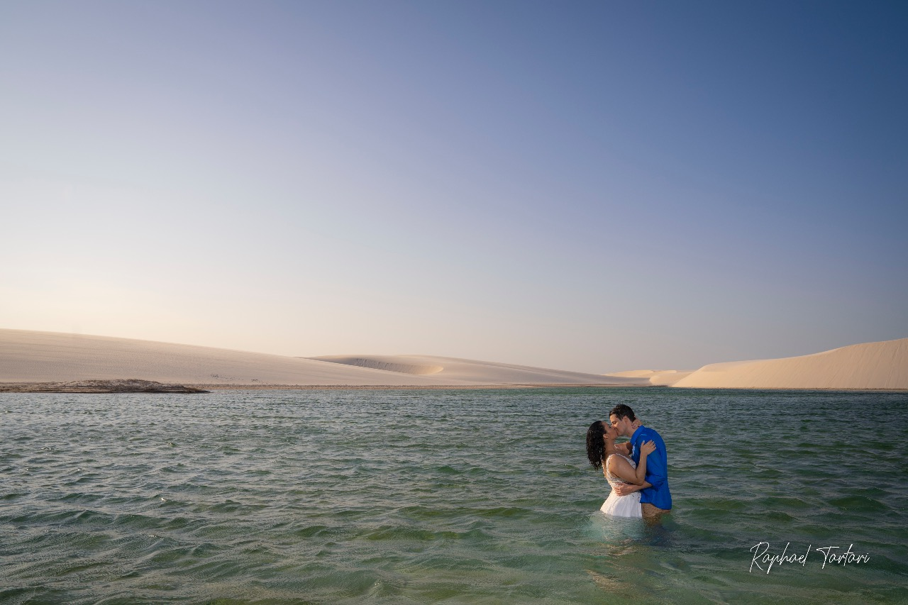 Nicolle e Felipe - Elopement Wedding no Parque dos Lençóis Maranhenses