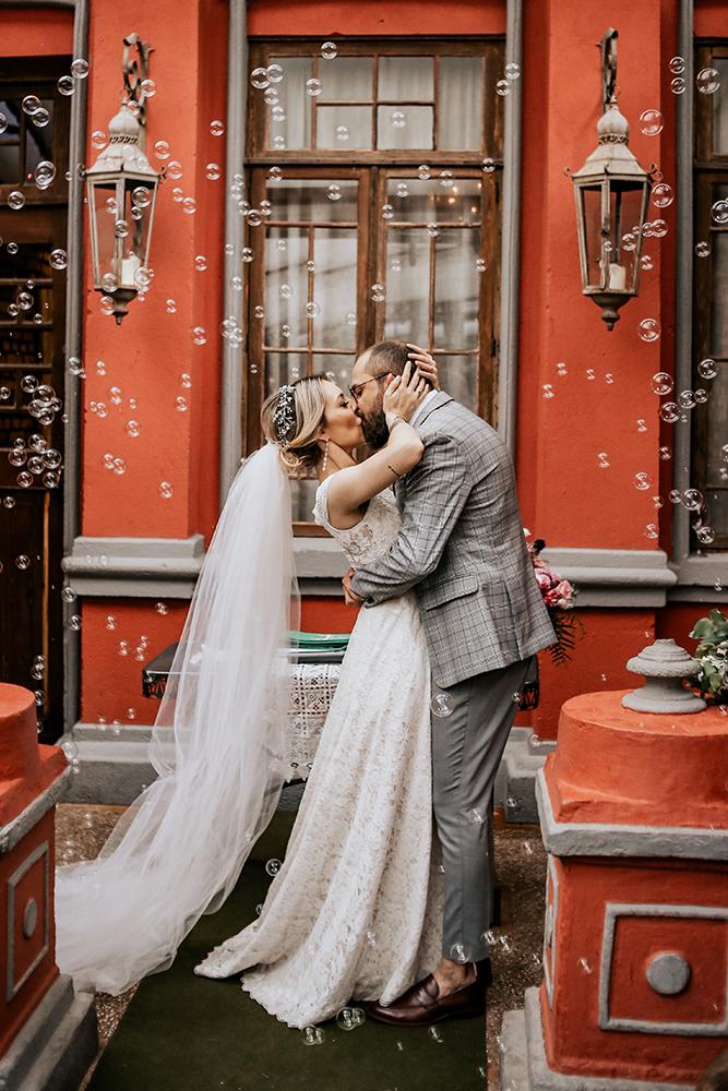 Karina e Eduardo - Casamento autentico no Espaco Quintal
