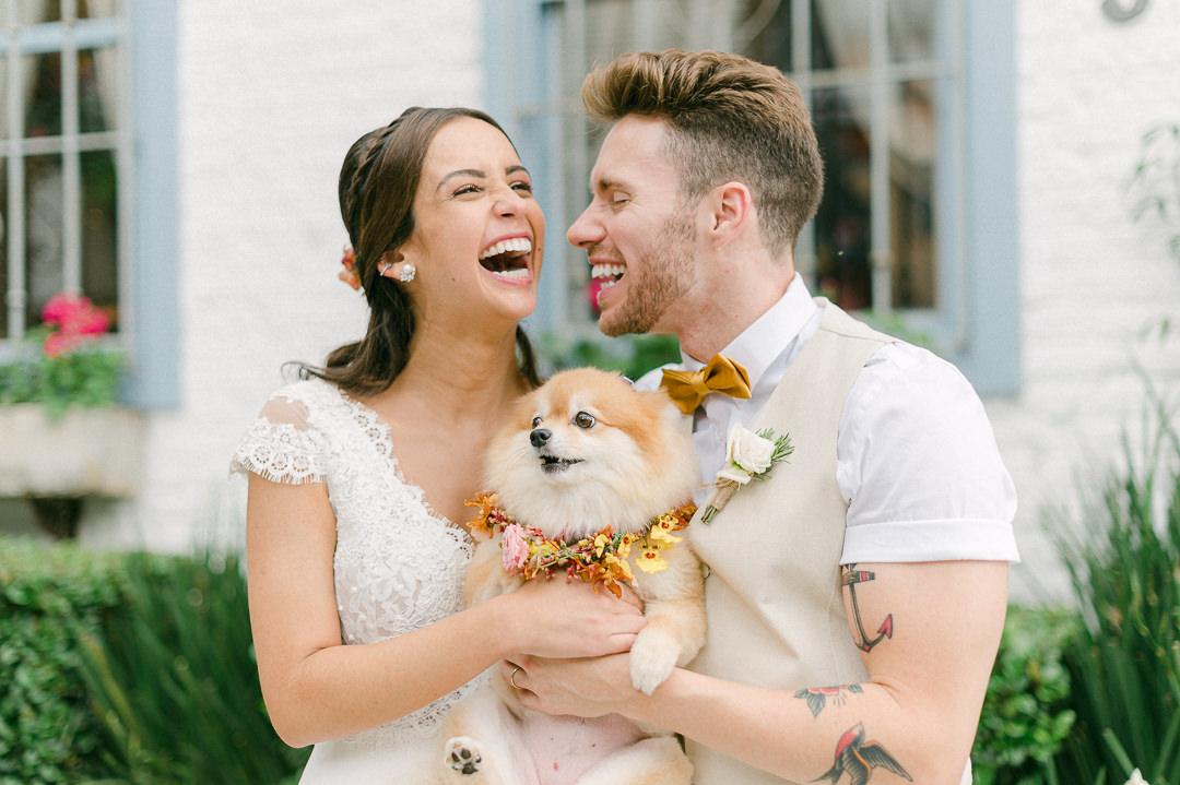 Mini wedding na Casinha Quintal | Casamento encantado de Marina e Luccas