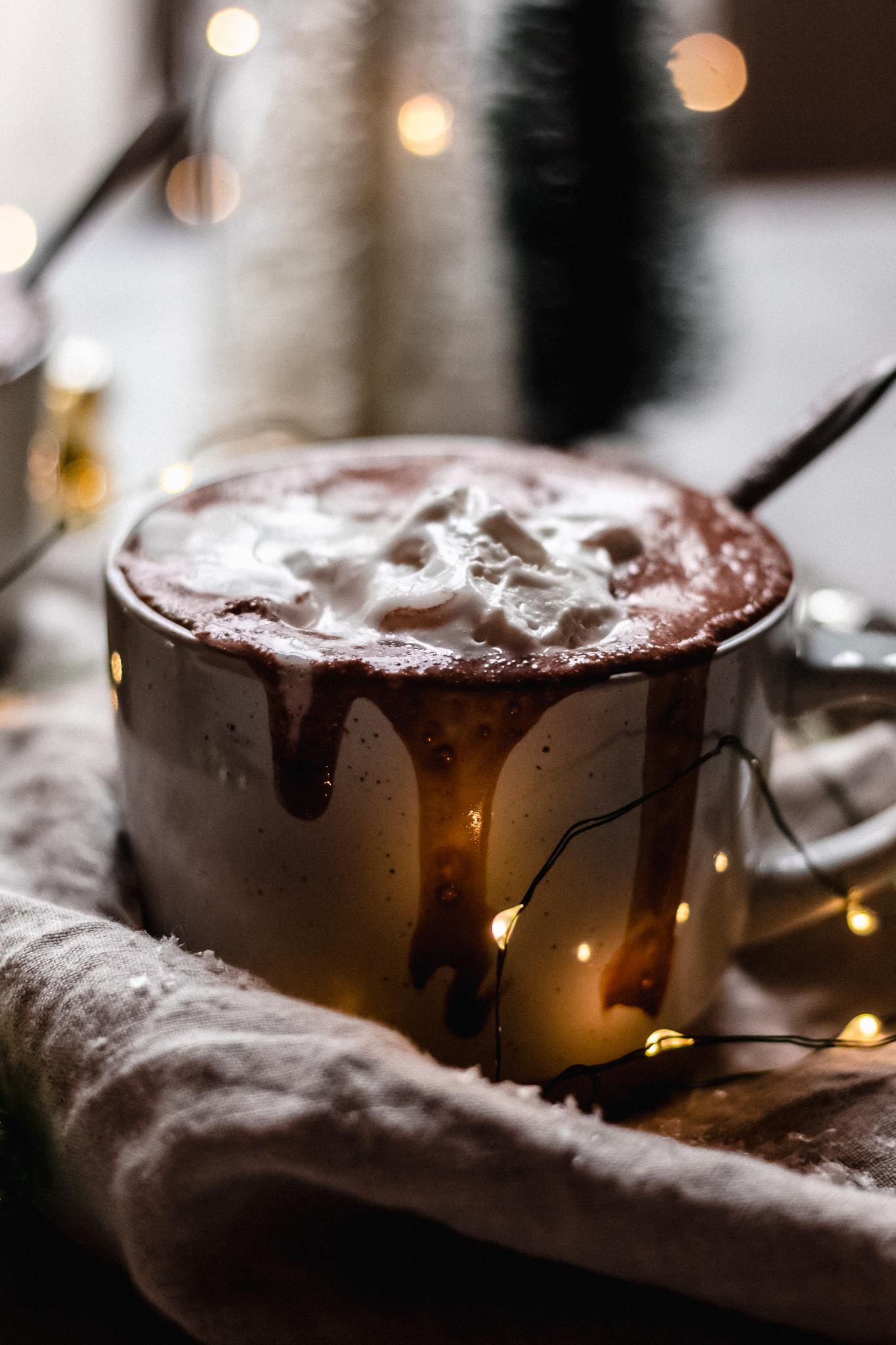Receita Noiva Ansiosa Chocolate Quente Cremoso Dicas de Inverno