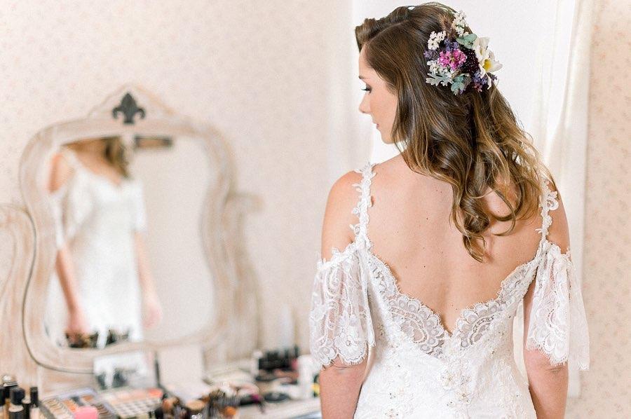 Vestidos de noiva sob medida passo a passo por Helen Salles