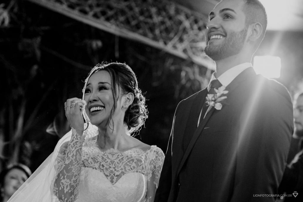 Aline e Guilherme   Casamento clássico com toque oriental
