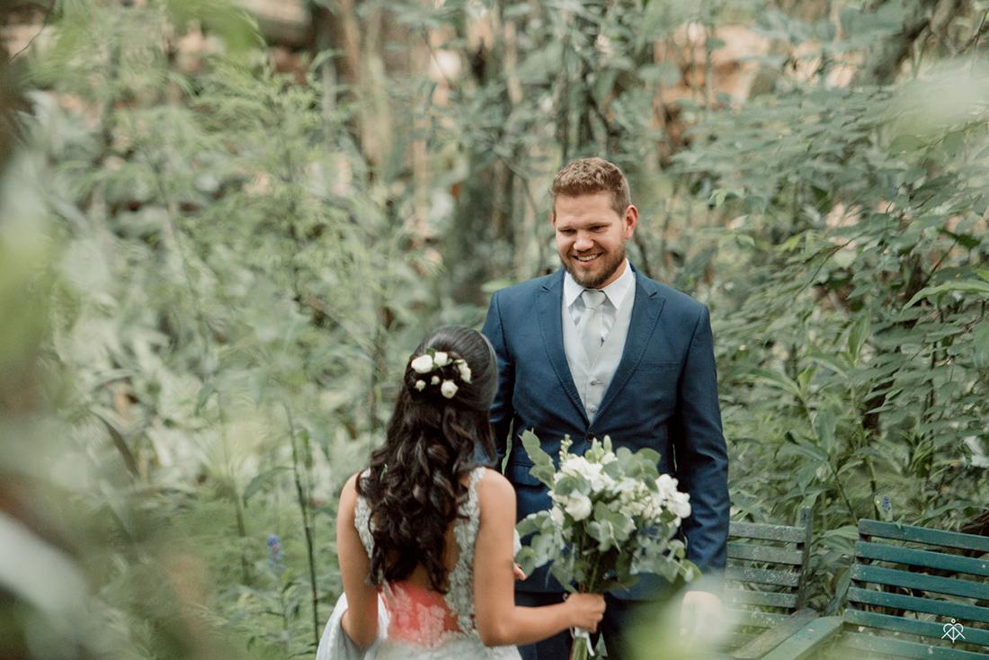 First Look - Casamento no campo - Cinco Elementos Eventos - Renato Miloch Fotografia