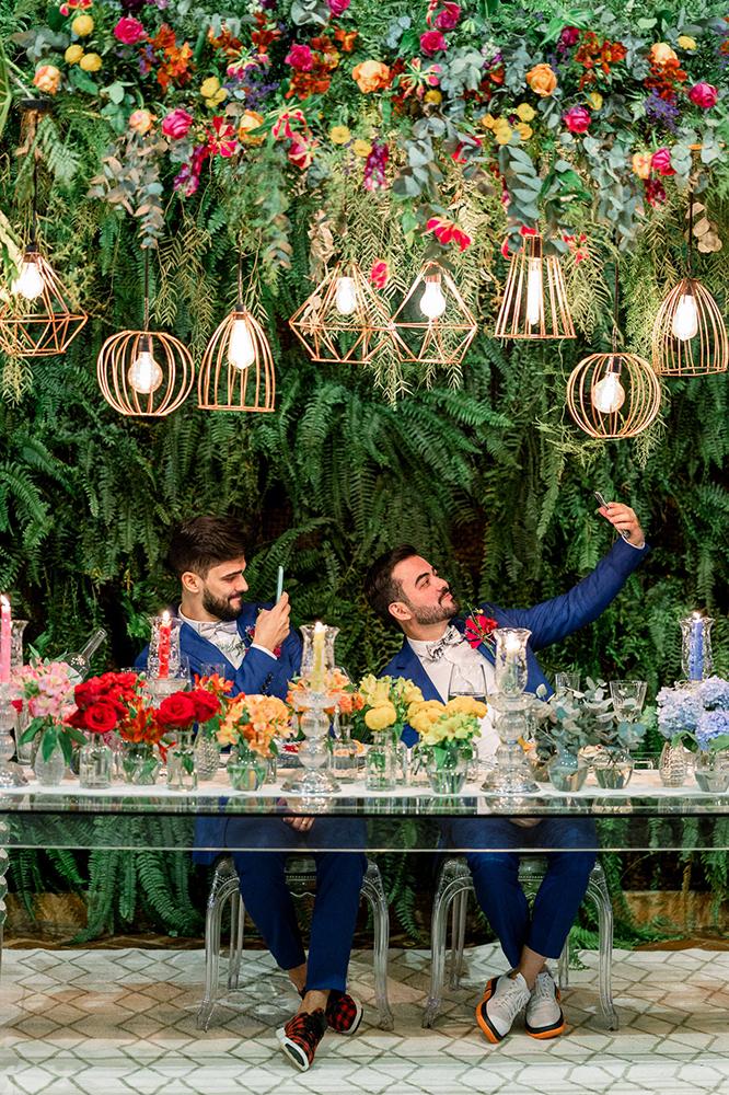 Lindsay e Wesler | Casamento colorido na Fazenda Dona Inês