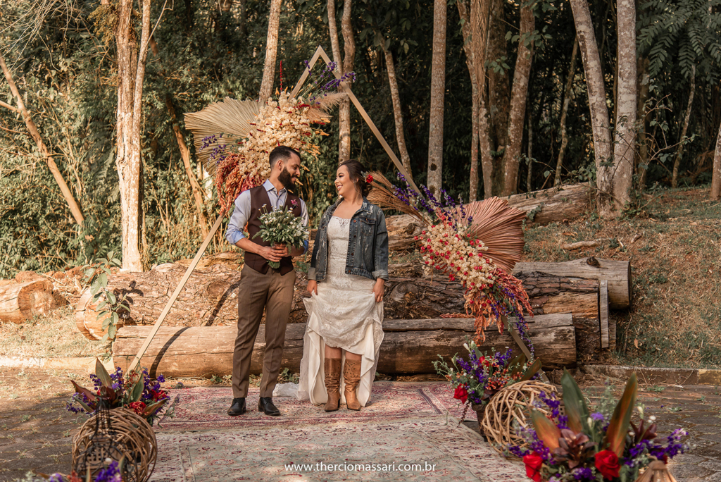 Lovely Country: a beleza do casamento rústico no Ravena Garden