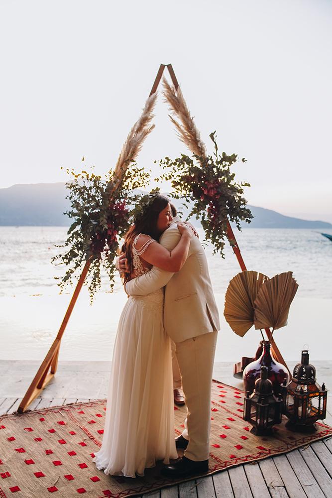 Marcia e Maurício | Elopement wedding em Ilhabela