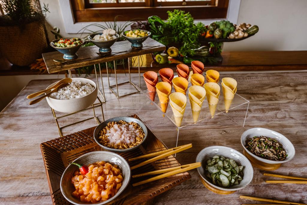 Zucca Buffet | Cardápio sustentável para casamentos na praia