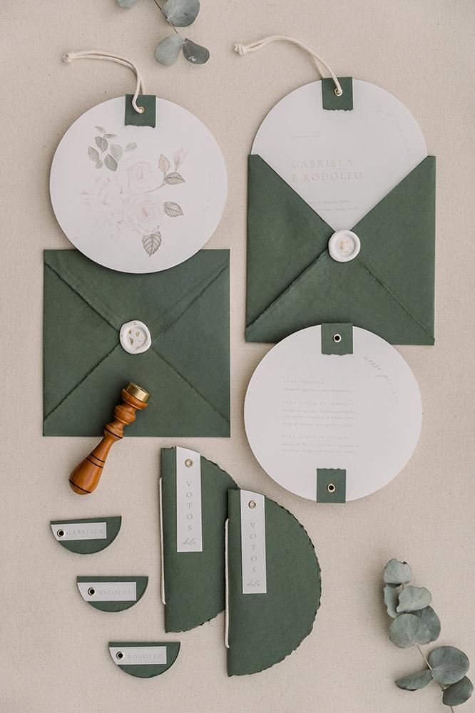 Inspire-se com a Galliari Design | Papelaria de casamento artesanal