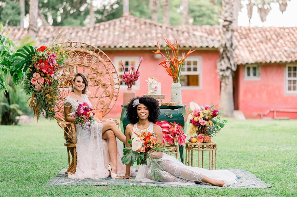 Amor Feminino | Duas noivas e todo amor do mundo Casamento Homoafetivo