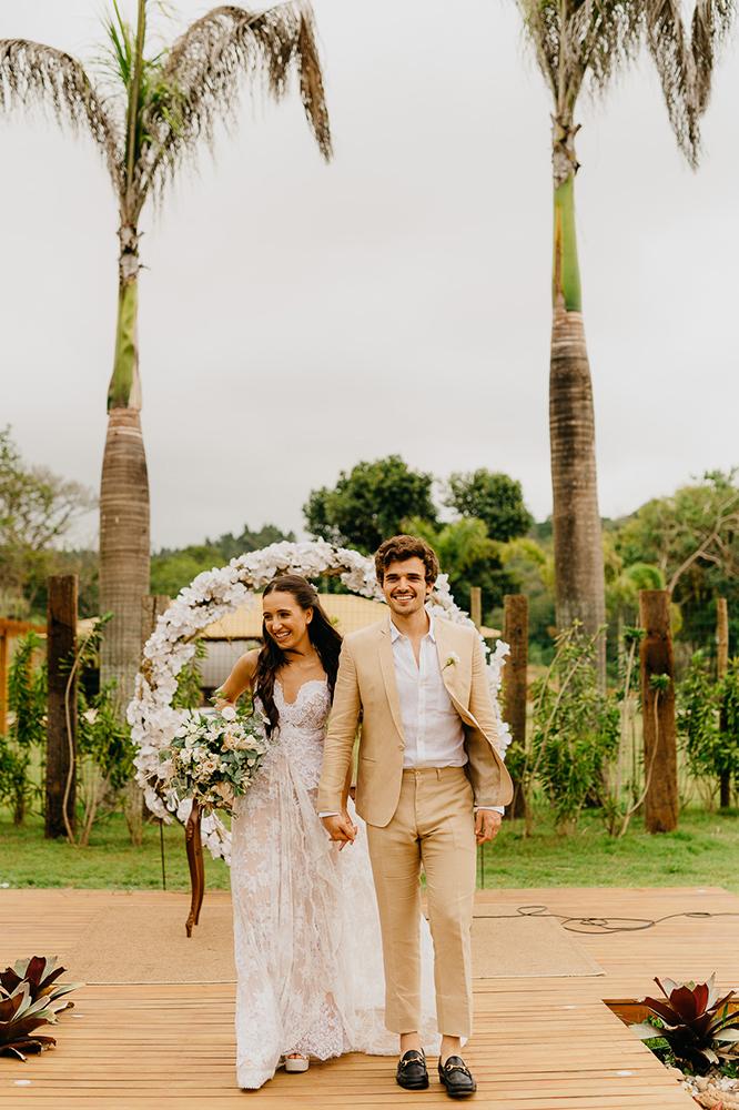 Luiza e Victor Azevedo | Bodas de algodão no Recanto Yeshua