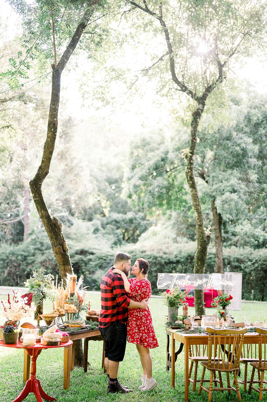 Natal Noiva Ansiosa - Editorial de Natal no Ravena Garden