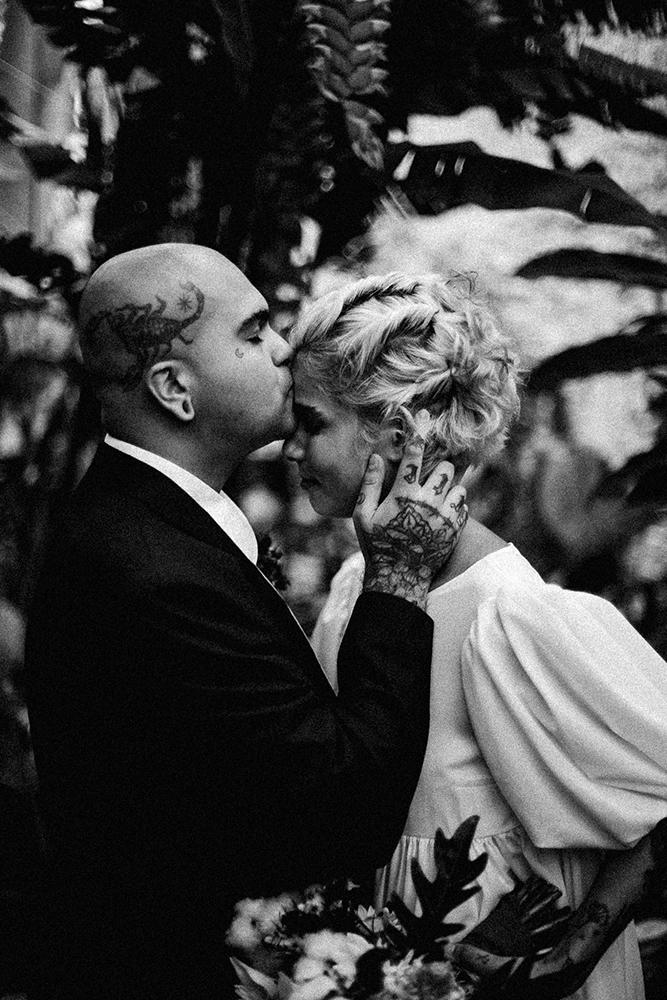 Nicole e Vallada | Noivos alternativos, amor genuíno