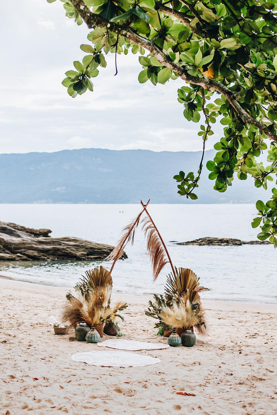 Renovação de Votos em Ilhabela - Boho Beach Wedding