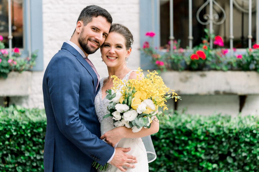 Aline e Ivan | Casamento intimista dos sonhos na Casinha Quintal