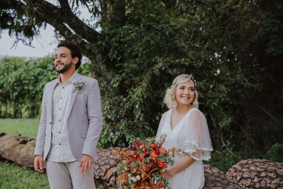Bruna e Lucas   Casamento com personalidade ao ar livre
