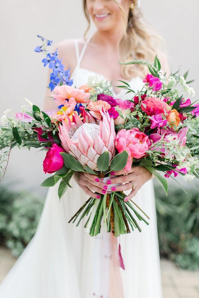 Inspire-se! | Buquê com protea, uma flor cheia de personalidade
