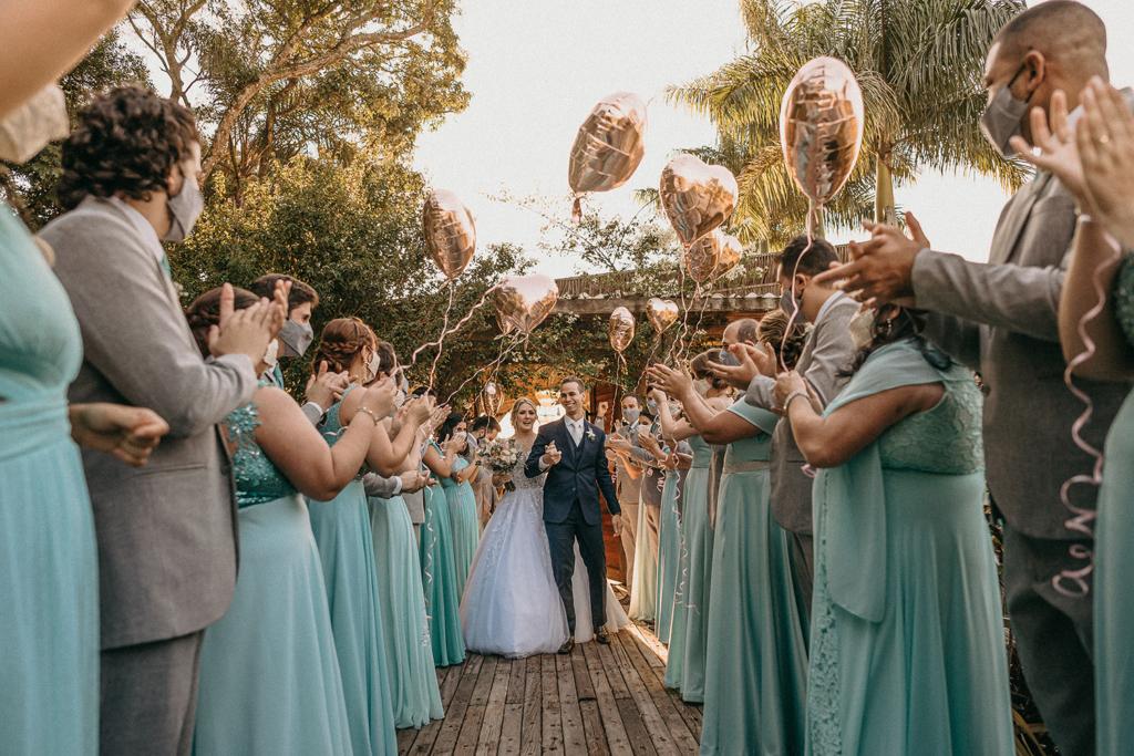 Giovana e Leandro | Casamento emocionante no Quinta da Cantareira - Beleza da noiva por Grazi Almeida