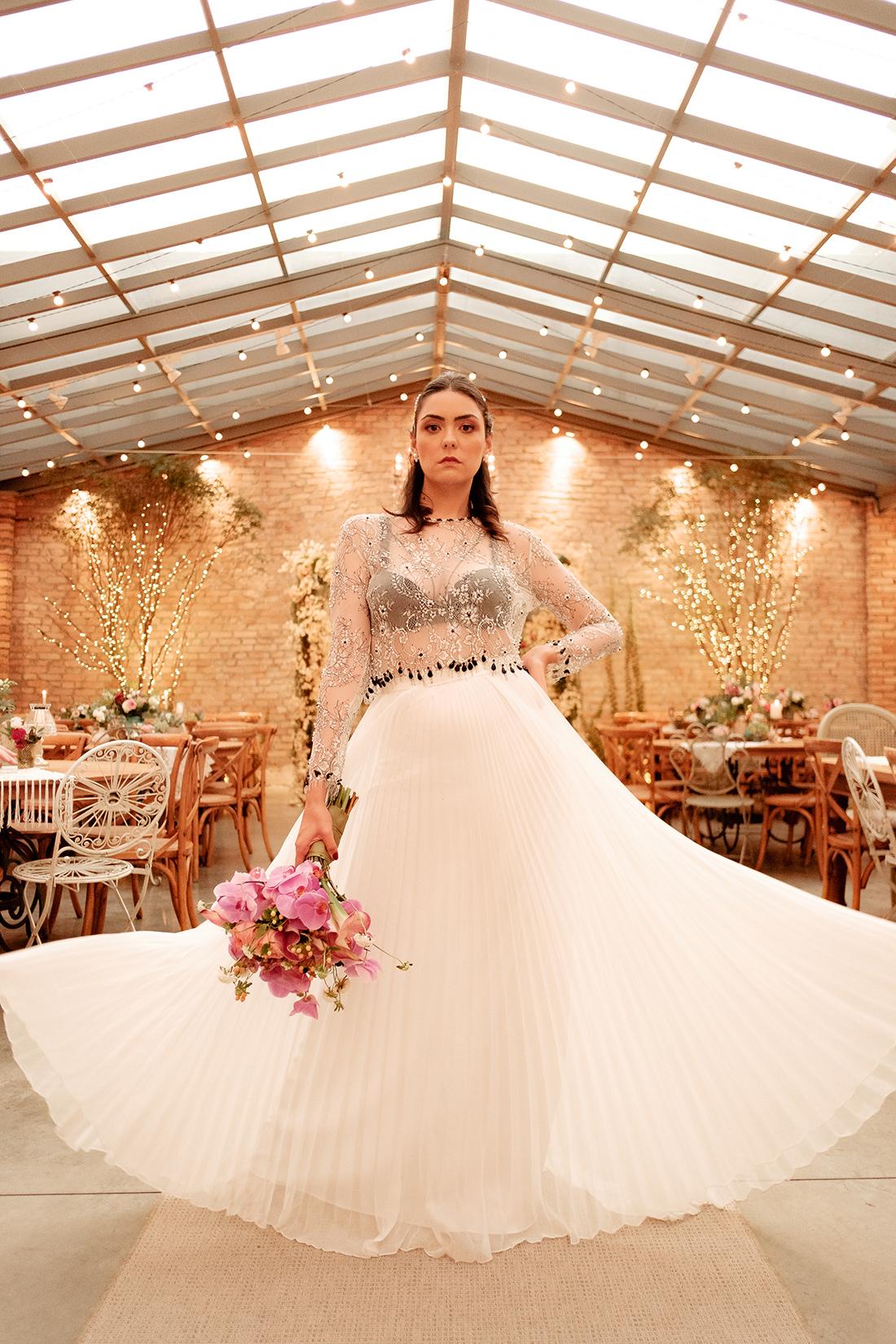 Noiva de Verdade - Noiva Ansiosa na Casa Quintal - Buqu6e por Lamore & Co