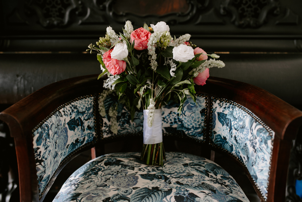 Kelly e João Henklain | Casamento romântico com tons de rosa