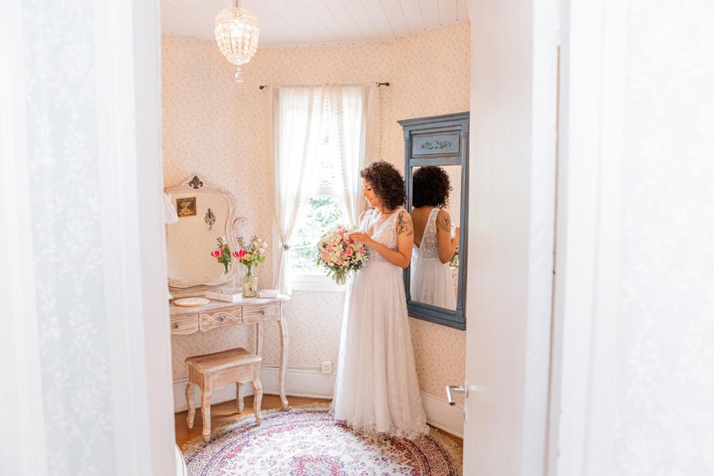 Isa e Rolando | Casamento delicado na Casinha Quintal