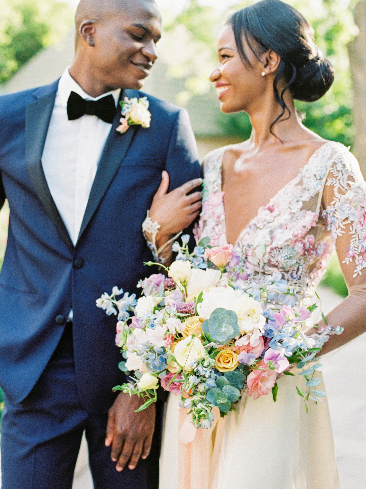 Tons pastel no casamento | Decoração tom pastel