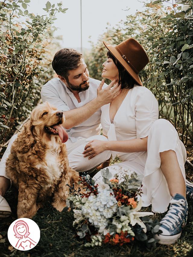 Produção Noiva Ansiosa: Joyce & Victor em Holambra