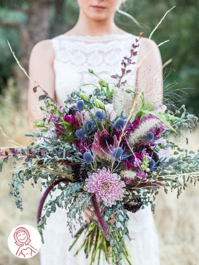 Ideias para usar roxo no casamento