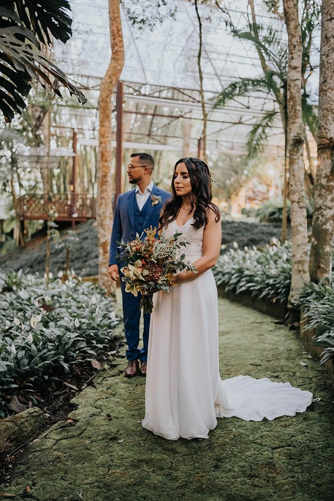 Andressa e Felippe   Casamento a dois na Casa Giardino