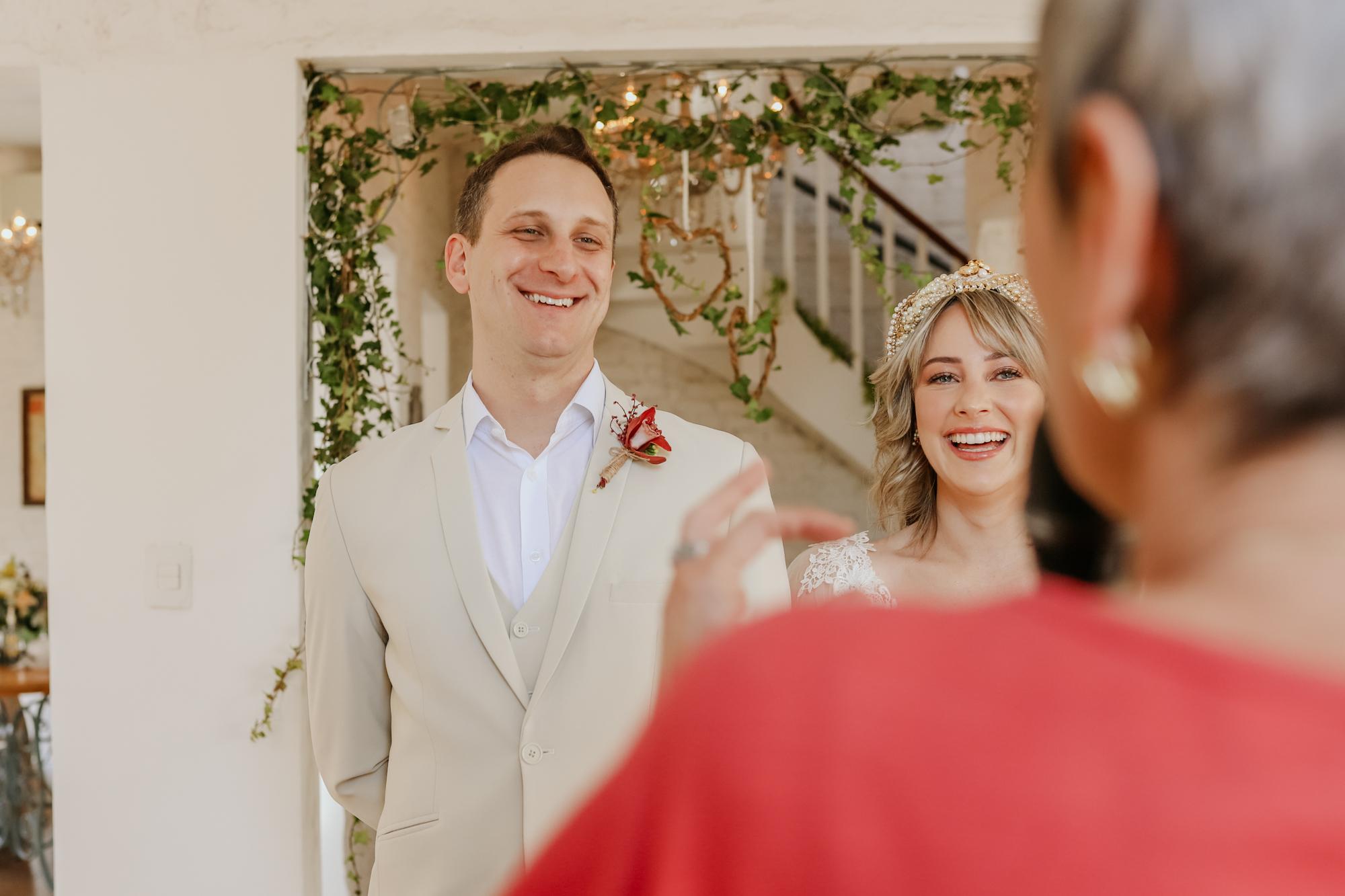 Danni e Victor | Renovação de votos com clima de home wedding