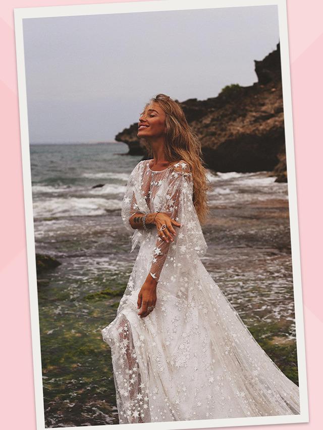 Vestidos de noiva com brilho – Pronta para brilhar?