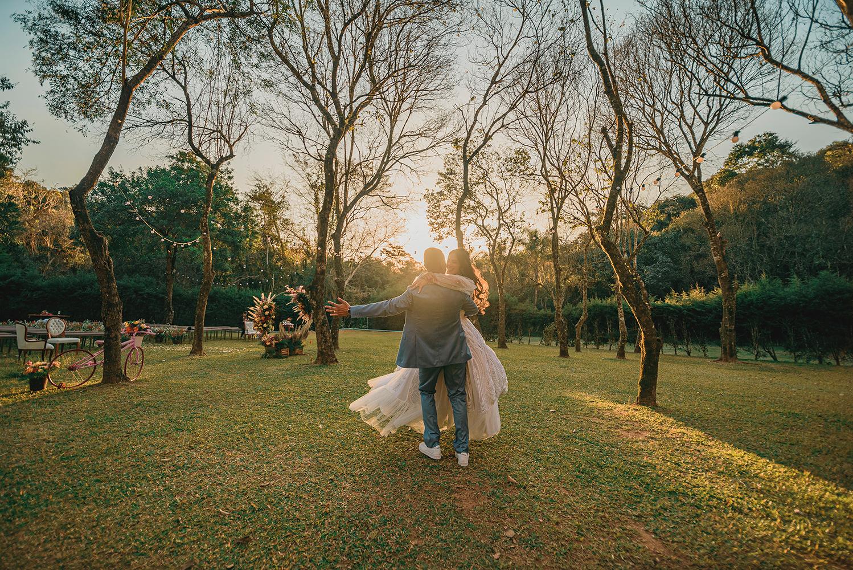 Caroline e Sergio | Casamento ao ar livre no Ravena Garden