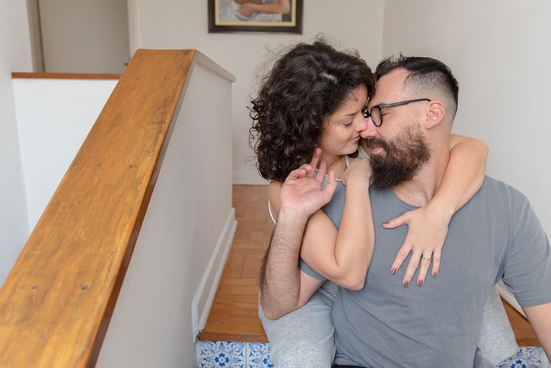 Ensaio em casa: o amor é o nosso lar, por Marina Maeda