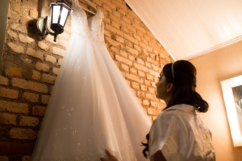 Érien e Bruno | Emoção e cumplicidade: casando com amor